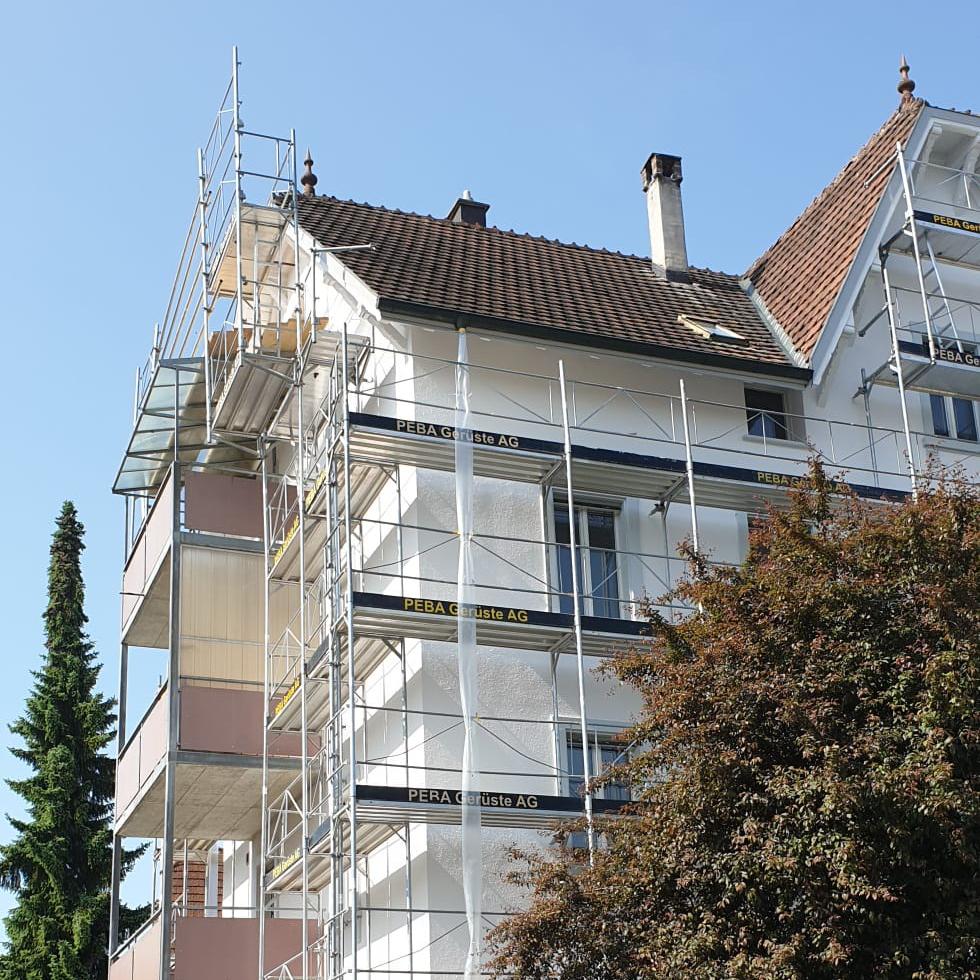 Fassade Goldgrund Immobilien Schaffhausen